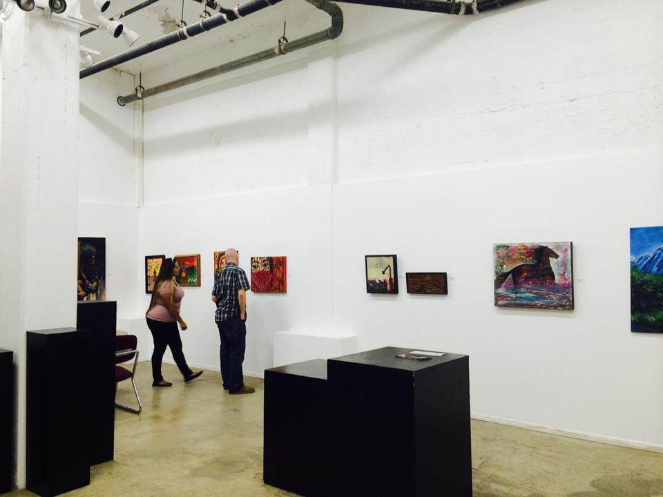 October 2014 -Matices de las Americas Collective Show  – Centro Cultural de la Raza, Balboa Park, San Diego – showing 4 Encaustic works