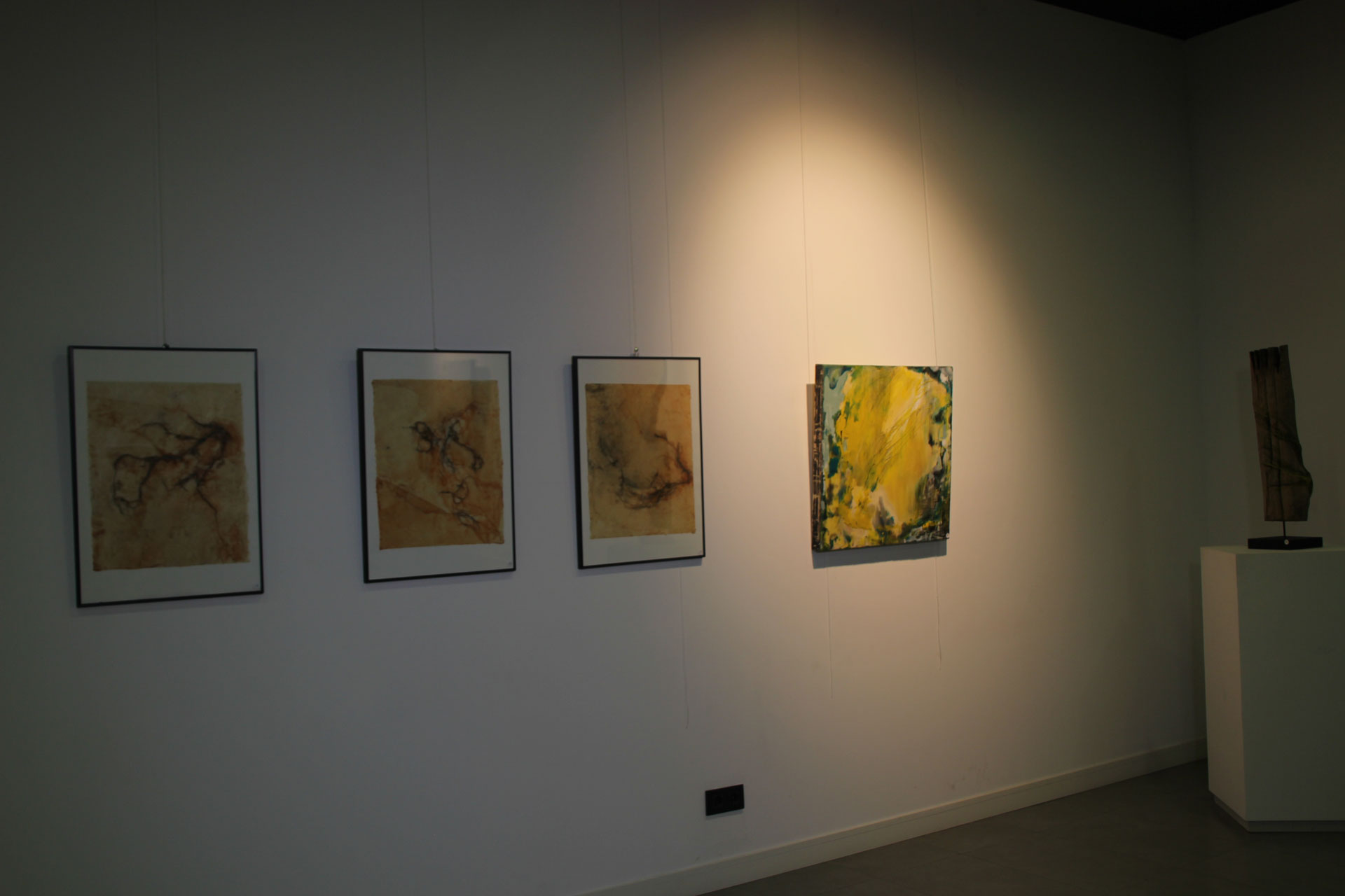 MADRID, Spain: November-December – Solo Encaustic Show – Sala de Exposiciones Lope de Vega