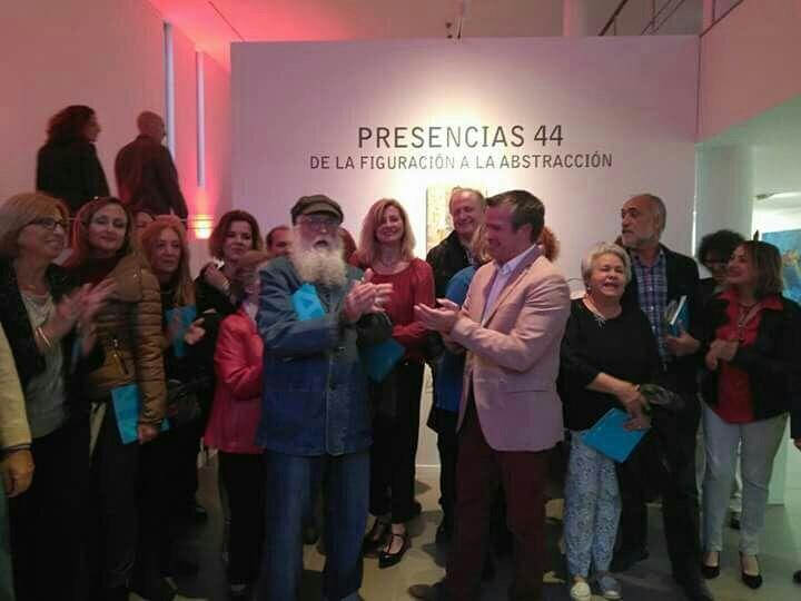 Collective Show – De la Figuracion a la Abstraccion – Presencias 44 – Pacifico 54 Espacio Expositivo, Diputacion de Malaga, April-May 2017