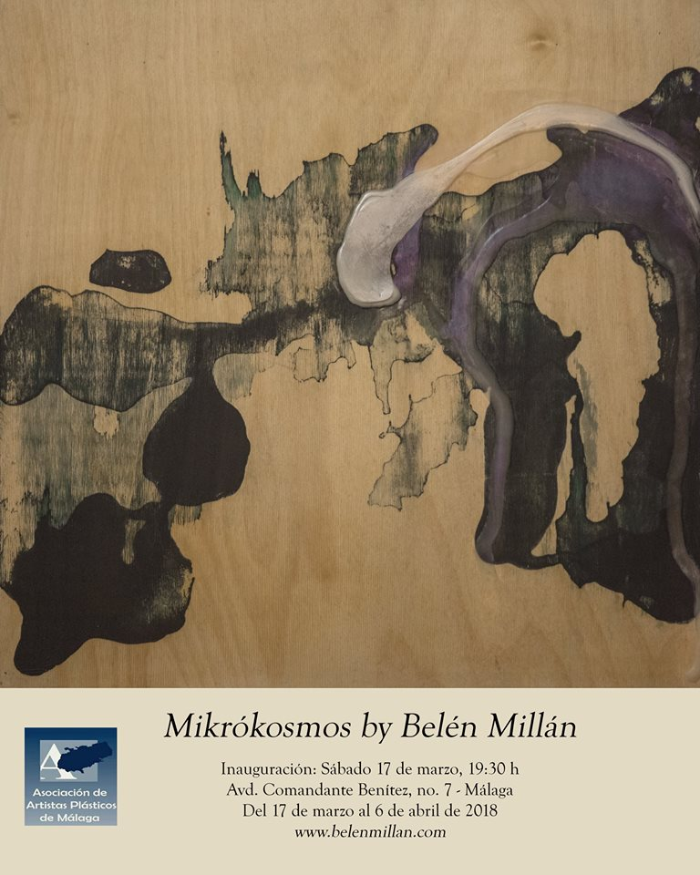 Mikrókosmos – Solo Show – Sala Barbadillo – Malaga, Spain – March 17th to April 6th