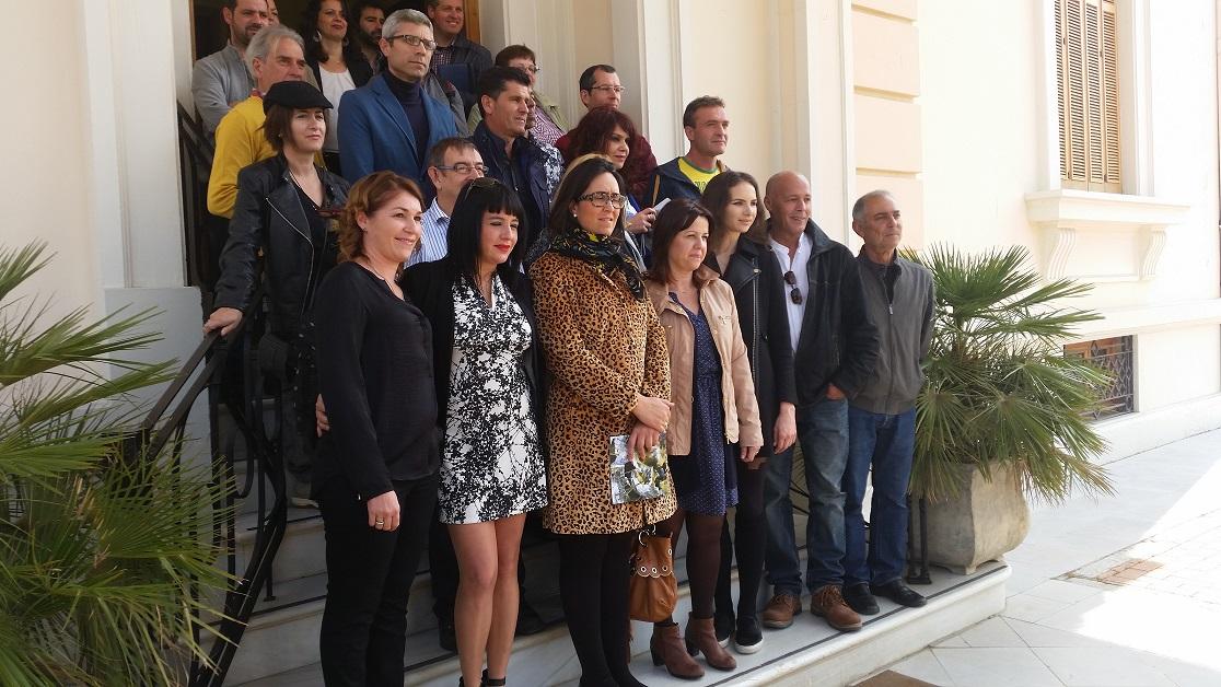 "GRANADA, Spain: Spain: Collective Show by Fiarte held in two locations -Palacio de Quinta Alegre and Centro Cultural Churriana – ""Sub-Terra II and III"" – Encaustic on wood, 120x85cm"