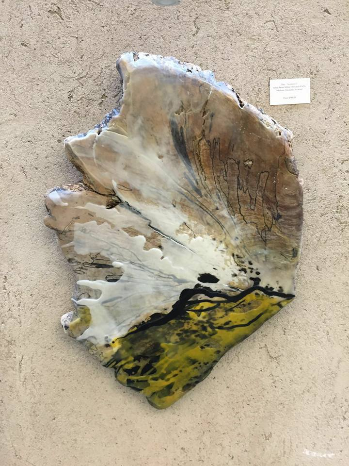 """USA – """"Encaustic Artists in the XXI Century"""" with Sicomoro II — collective show organized by the Encaustic Art Institute in Santa Fe, New Mexico, July 2016"""