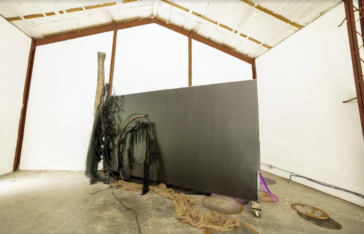 Jacaranda Installation – Judy Pfaff Foundation – M David Residency – Tivoli, New York, July 25 to August 8