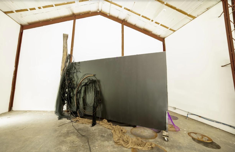 Jacaranda Installation – Judy Pfaff Foundation – M David Residency – Tivoli, New York, July 25 to August 8